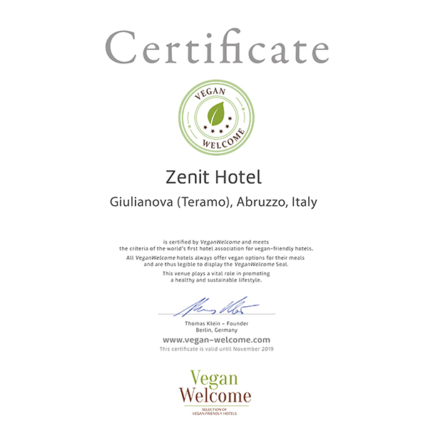 Our Hotel Is Located In The Abruzzo Region Surrounded By Nature Reserves Directly On Sea We Will Delight You With Vegan